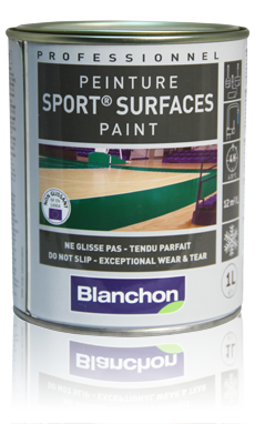 Peinture sport surfaces Blanchon