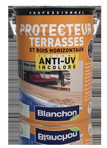 Protecteur terrasse anti UV Blanchon