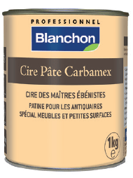 Cire Pate Carbamex Blanchon 1Kg