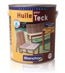 Blanchon Huile Pour Teck 2.5L  pour l'entretien de votre salon de jardin