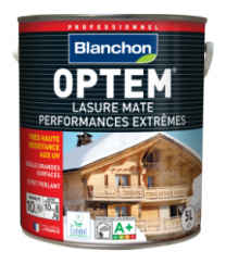 Lasure Optem Blanchon 1L  indice de performance maximum