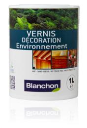 Vernis Décoration Environnement Blanchon Incolore 1L