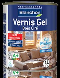 Vernis Gel Bois Ciré blanchon